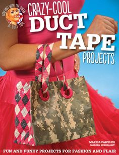 Crazy Cool Duct Tape Projects finally a reason to buy all the awesome duct tape I've been seeing!