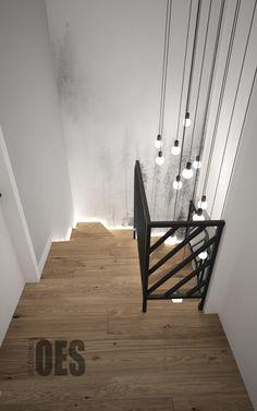 Staircase Wall Decor, Stair Decor, Staircase Railings, Stairways, Interior Stairs, Interior Exterior, Home Interior Design, Interior Decorating, Flur Design