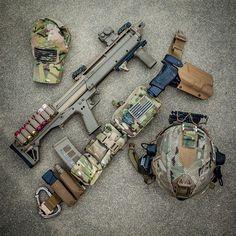 KelTec KSG | Battle belt w/ TITAN holster | Glock 34 w/ Surefire X300 Ultra | Team Wendy bump | RE Factor Tactical Blasting Cap