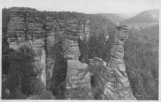 Klettern im Elbsandsteingebirge  ©Walter Hahn/Herkulessäulen