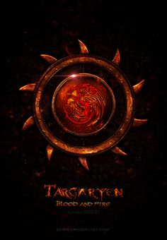 House Targaryen ~ Game of Thrones Fan Art by Jie Feng
