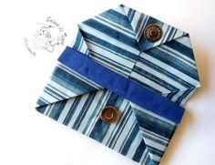 Clutch em tecido confeccionado com a técnica do Orinuno (Origami em Tecido), sem costuras. Fecho em ímã. Tamanho: 10x15 cm. #orinuno #balaiodetigre #clutch