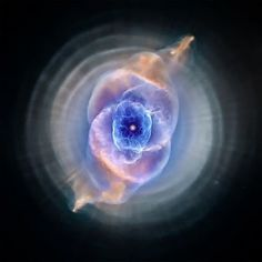 The Cat's Eye Nebula ...  The finest mist I have seen so far ... Hubble Space Telescope - Community