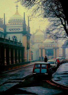 The Royal Pavillion, Brighton, on a Foggy Day   John Nash  1815  Photograph 1965 George P. Landow