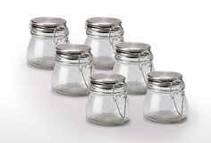 Cute little spice jars for my pantry - 5 ounces - $2 each