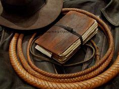 My Hero Grail diary replica Henry Jones Jr, Indiana Jones Party, Indiana Jones Adventure, Cinema Tv, Indiana Pacers, Harrison Ford, Leather Books, Movie Props, Markiplier