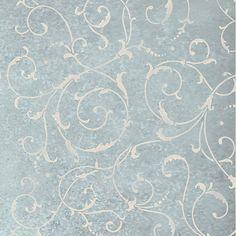 Wall Stencil  Lily Scroll  Reusable by CuttingEdgeStencils on Etsy, $44.95