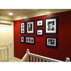 Love the wall color Black Rooms, Red Rooms, Red Room Decor, Red Interior Design, Wall Color Combination, Room Wall Colors, Living Room Red, Ideas Hogar, Bedroom Red