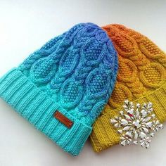 679 отметок «Нравится», 14 комментариев — ВЯЗАНИЕ⭐СХЕМЫ⭐МК (@knit.blog) в Instagram: «Схема вязания очень красивой шапочки спицами.»