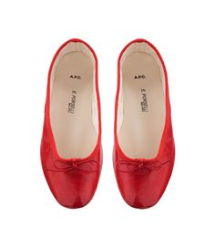 Click your heels and #comehome. (PORSELLI BALLET FLATS)