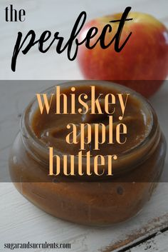 Whiskey Apple Butter
