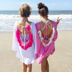 Women Summer Dresses 2017 Sexy Backless Tassels Beach Cover Up Beachwear Woman Beach Dress Sexy Pareo Bikini Covers Beach Tunic Short Beach Dresses, Summer Dresses For Women, Sexy Dresses, Summer Outfits, Beach Wear For Women Outfits, Beach Outfits, Vacation Outfits, Casual Dresses, Mode Hippie