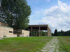 chapel and crematorium  Erik Gunnar Asplund Woodland Cemetery, Stockholm