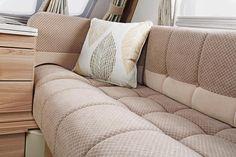 Challenger Sport optional Impala fabric scheme Caravans, Outdoor Life, Impala, Swift, Touring, Throw Pillows, Bed, Sports, Fabric