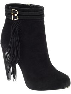 30bfe3da2 Sam Edelman Keegan Bootie - love the fringe! Awesome Shoes
