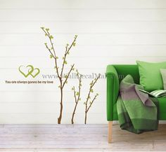 You Are Always Gonna Be My Love Tree Wall Decals – WallDecalMall.com