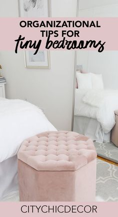 These organization tips will help keep you sane and keep your bedroom a calm oasis. These organization tips will help keep you sane and keep your bedroom a calm oasis. Teen Bedroom Organization, Organization Hacks, Studio Apartment Decorating, Luxury Homes Interior, Fashion Room, Small Apartments, Small Spaces, Decoration, Bedroom Decor