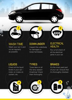 6 Ways to take care of your car.