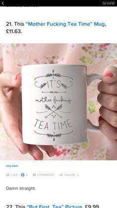 Mug Decorating, Tea Time, Mugs, Tableware, Etsy, Dinnerware, Tumblers, Tablewares, Mug