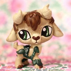 Moss the Faun (OC) LPS custom by pia-chu on DeviantArt