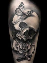 Resultado de imagem para tattoos de caveira feminina