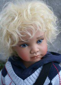 Dolls are designed, sculpted and created by John & Angela Barker. Realistic Dolls, Vinyl Dolls, Child Doll, Reborn Baby Dolls, Dollhouse Dolls, Vinyl Designs, Beautiful Dolls, Doll Toys, Art Dolls