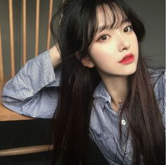 I wanna look like her (and all ulzzang girls) Korean Girl Ulzzang, Cute Korean Girl, Uzzlang Girl, Korean Beauty, Asian Beauty, Girl Korea, Asia Girl, Grunge Girl, Asian Hair