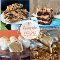 15 Scrumptious and Unique Pumpkin Recipes | #pumpkin #pumpkinrecipes #recipe
