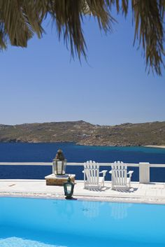 The only luxury boutique hotel in Mykonos, Greco Philia offers 30 unique suites and villas all offering sea view, some with private pools or hot tubs. Mykonos Hotels, New Theme, Private Pool, Beautiful Islands, Greece, Luxury Suites, Explore, Villas, Outdoor Decor