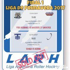 Se vienen las primeras finales de la liga de primavera 2017. No te las pierdas!!! #final #liga #argentina #roller #hockey #sold #out #fair #play http://ift.tt/2zp90bD - http://ift.tt/1HQJd81
