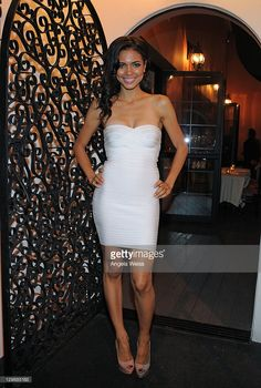 Actress Jennifer Freeman celebrates her birthday at Rose Restaurant on October 20, 2011 in West Hollywood, California.