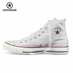 Original Converse all star shoes men women s sneakers canvas shoes all  black high classic Skateboarding Shoes 98bebaa8c5