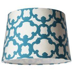 13 x 13 Threshold� Lamp Shade - Cream/Trout Stream Medium