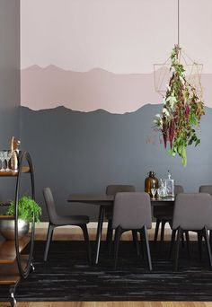 Haymes colour launch Exotic Botanic copy Color Trends: Haymes Color Forecast 2015 - Decoration for House Interior Walls, Interior And Exterior, Interior Design, Color Inspiration, Interior Inspiration, Deco Pastel, Creative Walls, Creative Wall Painting, Living Room Sets