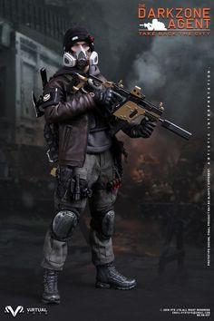 1//6 VTS Virtual Toys VM017 le darkzone agent de la division Loose Body Armor