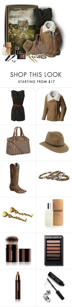 """""""Country Style!"""" by sarahguo ❤ liked on Polyvore featuring Gio-Goi, Columbia, DKNY, Wilton, Waxing Poetic, Yves Saint Laurent, Laboratory Perfumes, Hourglass Cosmetics, Bobbi Brown Cosmetics and country"""