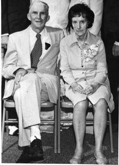 Grandpa and Grandma 50 years of marriage.