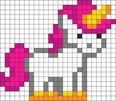 """Résultat de recherche d'images pour """"image de licorne en pixel art"""""""