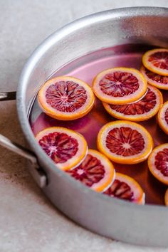 Homemade Candied Blood Orange Slices with Dark Chocolate. These are perfect for any occasion, and make a wonderful holiday gift!