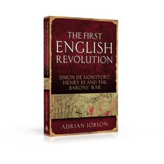 Book cover design: The First English Revolution