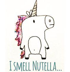 Love this!!!!! #unicorn #nutella
