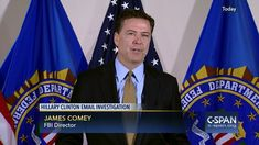 """FBI Director James Comey FULL STATEMENT on Hillary Clinton Email Invest...Published on Jul 5, 2016 FBI Director James Comey spoke to reporters about Hillary Clinton's use of a private email server while serving as secretary of state.He said that although the investigation found extremely """"careless"""" behavior by Secretary Clinton and her staff in their handling of sensitive information, the FBI concluded that no charges were appropriate and that the agency believes no reasonable prosecutor…"""