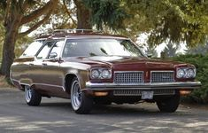 1973 Oldsmobile Custom Cruiser Station Wagon