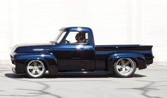 56 Ford F100, 1956 F100, Muscle Truck, Classic Ford Trucks, Ford Pickup Trucks, Vintage Trucks, Custom Trucks, Cool Trucks, Old Cars