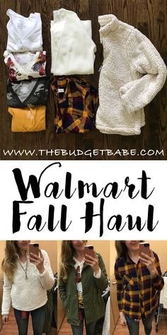 This blogger finds the cutest fashions at Walmart! Need that fleece