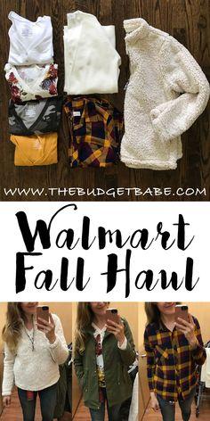 d5722793839 My Walmart Fall Haul   19 Sherpa Fleece