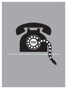 Modest Mouse Tucson Concert Poster by Jason Munn