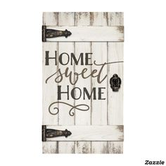 Look what I found on 'Home Sweet Home' Barn Door Wall Sign