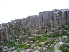 Basalt Columns at the Giant's Causeway