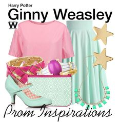 """Harry Potter - Prom Inspirations"" by wearwhatyouwatch ❤ liked on Polyvore featuring Chicwish, Marni, Blu Bijoux, Jennifer Meyer Jewelry, Prom, harrypotter, wearwhatyouwatch, film and prominspiration"